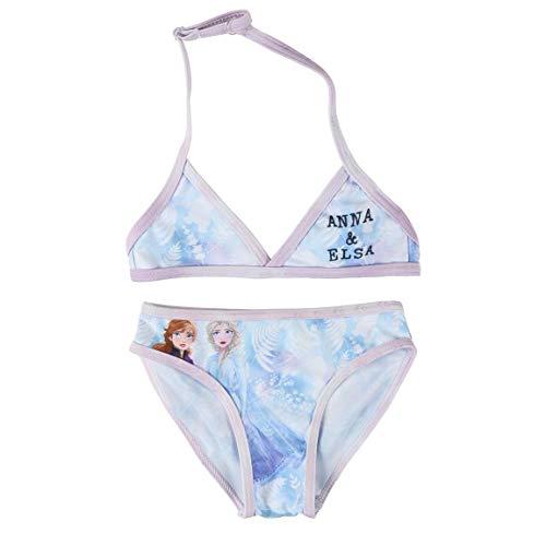 Cerdá Bikini Niña Frozen 2 de 2 Piezas Traje de baño, Azul Claro, 4 años para Niñas