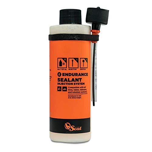Orange Seal Endurance Tire Sealant w/Injection (8oz w/Injector)