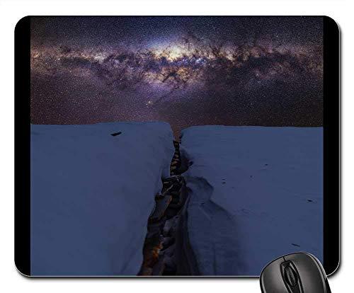Mauspad - Schnee Winter Weiß Kaltes Wetter Eis Natur Sterne