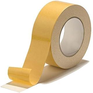 Cinta adhesiva de doble cara 38 mm x 50 M | Cinta Tapima 38/50 | Cinta adhesiva | Alfombra de cinta adhesiva | Almacenaje multiuso