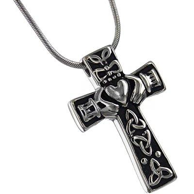 Silverlight Urns Celtic Cross Cremation Jewelry