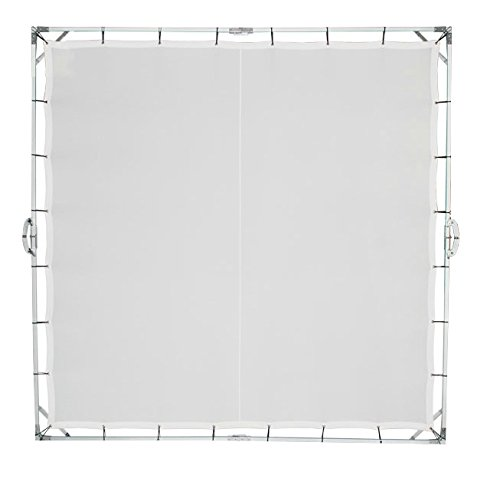 2.4x2.4m 8'x8' Butterfly overhead Diffusor Frame Cloth Bag Translucent Collapsible