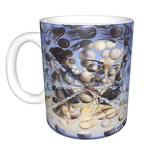 Hdadwy Galatea Of The Spheres-Salvador Dal Home Taza de té de cerámica para oficina Taza de café de 10 oz