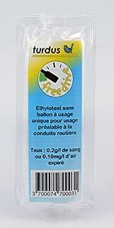 TURDUS 01050062 ETHYLOTEST /À Usage Unique 0,5G
