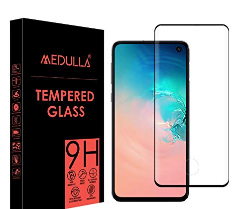 Medulla Edge to Edge Full Glue Curved Edge Tempered Glass Screen Protector for Samsung S10