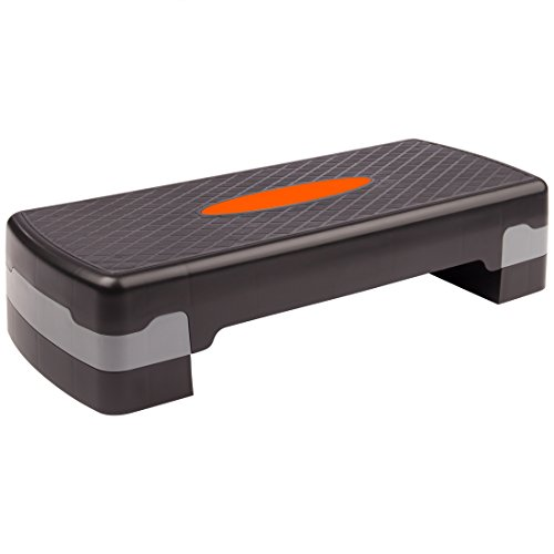 Ultrasport Aerobic Step, Stepper, Aerobic Fitness Stepper, Altezza Regolabile