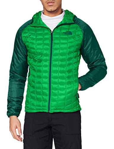 The North Face Thermoball Sport Sweat-Shirt à Capuche Homme, Primary Green/B , FR : XL (Taille Fabricant : XL)