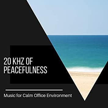 20 kHz of Peacefulness - Music for Calm Office Environment