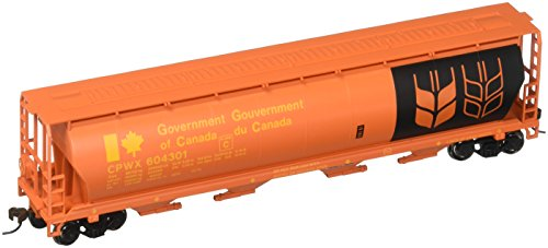 Bachmann Trains - Canadian 4 Bay Cylindrical Grain Hopper - Government of Canada - HO Scale