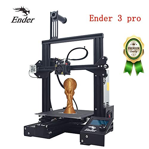 Creality 3D Printer Ender 3 Pro New Version, with Magnetic Build Surface & UL Certified Power Supply Device, Resume Print 220 × 220 × 250mm Quick assembly kit