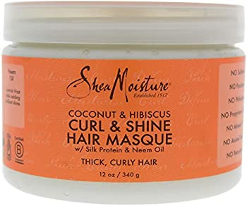 Shea Moisture Coconut & Hibiscus Hair Masque 12 Ounce