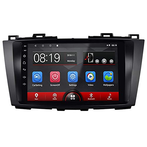 Semoic 9 Pulgadas Android 8.1 2.5D HD Pantalla de Prensa Coche MP5 Player 1G + 16G WiFi Radio FM para 5 NavegacióN GPS