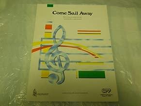 COME SAIL AWAY STYX 1977 SHEET MUSIC FOLDER 576