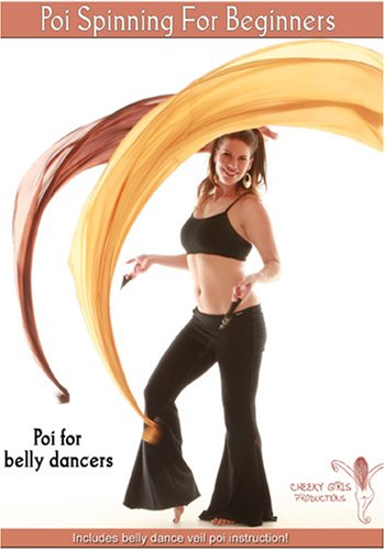 Michelle Joyce presents Poi Spinning For Beginners - Veil Poi For Belly Dancers