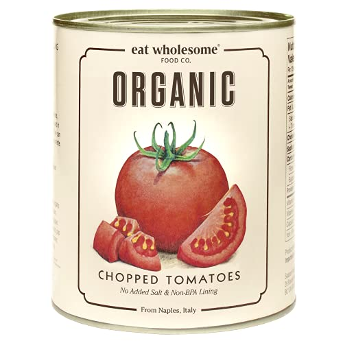 Eat Wholesome Food Co. Organic Chopped/Diced Tomatoes 800g
