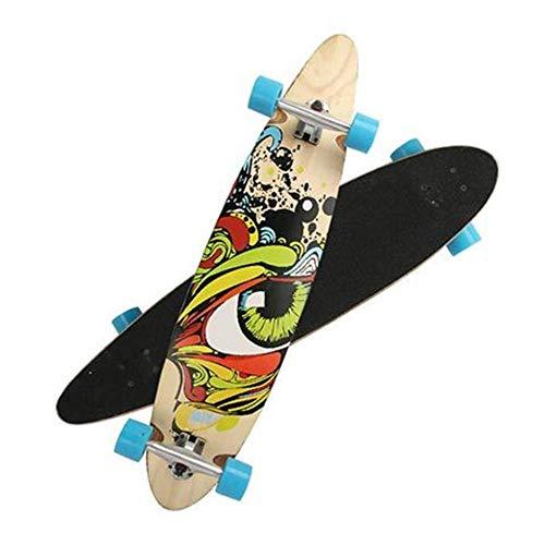 IDE Play Longboard Cruiser Boards Skate Boards komplett Twin Tip Longboard Skateboard,C