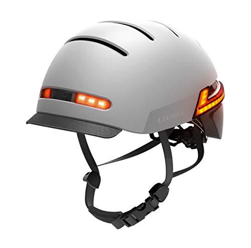 Livall BH51T Neo 2020 - Casco de bicicleta con luces de advertencia...