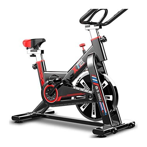 JINSUO Bicicleta de fitness para interior de spinning de eje