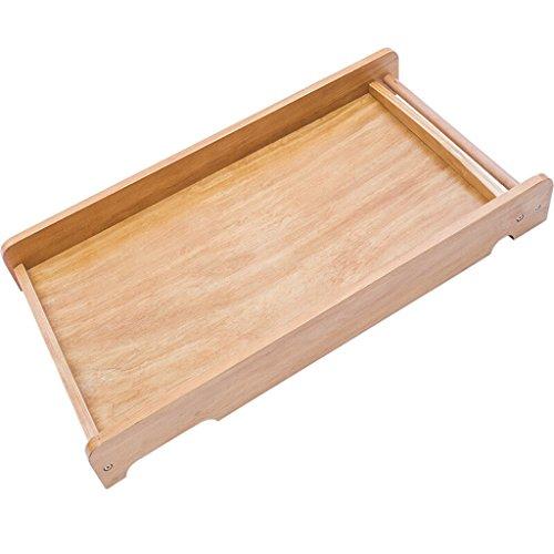 ALUK- Bébé Table à Langer/Bois Massif Portable Baby Care Bureau Lit dans Le lit Table à Langer Bébé Toucher Table Table de Finition Bois Couleur 10 kg de Charge (Couleur : Natural Wood)