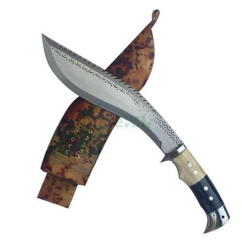 "8"" Blade American eagle Dragon best kukri, brown sheath, working,military knives,handmade by Khukuri and Craft, Nepal"