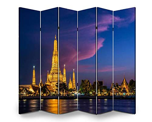 Wood Screen Room Divider wat arun pink clouds stock pictures, royalty free photos images Folding Screen Canvas Privacy Partition Panels Dual-Sided Wall Divider Indoor Display Shelves 6 Panels