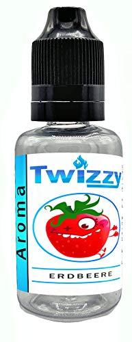 30ml Twizzy XL Erdbeere Aroma | Aroma für Shakes, Backen, Cocktails, Eis | Aroma für Dampf Liquid und E-Shishas | Flav Drops | Ohne Nikotin 0,0mg