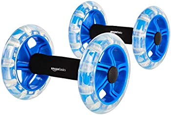 2-Pack Amazon Basics Excersise Fitness Ab Rollers
