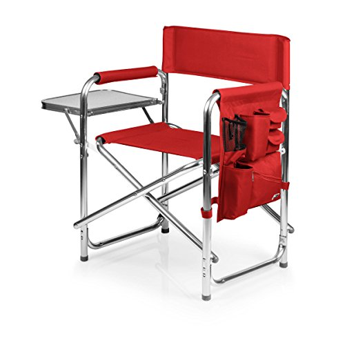 ONIVA  a Picnic Time Brand Portable Folding Sports Chair Red