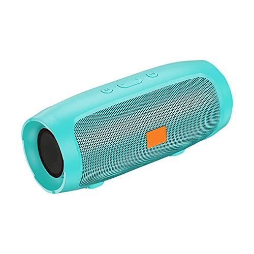 YUANMAO Alto-falante Bluetooth, vários modos de reprodução sem fio Coluna de alta potência FM Caixa de alto-falante de rádio para música no telefone Green