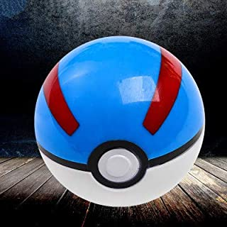 WOIA Anime 1Pcs Pokeball + 1Pcs Random Tiny Figures Inside Action Figures Toys Collection Figure Toys for Kids Birthday Gift -Multicolor Complete Series Merchandise