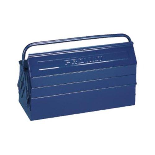 PROMAT 871260 Werkzeugkasten 3tlg. 430x200x150mm Stahlblech blau PROMAT Griff umlegbar