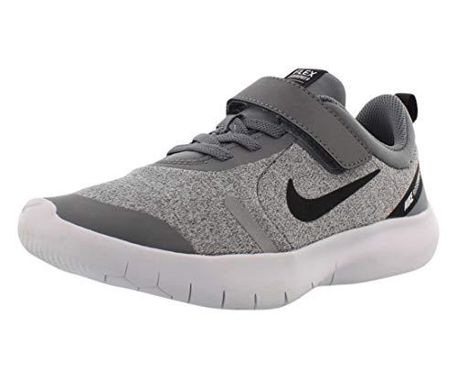 Nike Kids Boy's Flex Experience RN 8 (Big Kid) Cool Grey/Black/Reflect Silver/White 7 Big Kid