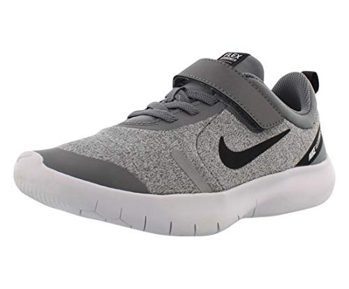 Nike Kids Boy's Flex Experience RN 8 (Big Kid) Cool Grey/Black/Reflect Silver/White 7 Big Kid