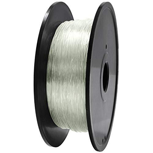 TPU, filamento per stampante 3D, filamento TPU GIANTARM 1,75 mm, precisione dimensionale +/- 0,02 mm, 0,4 kg, trasparente