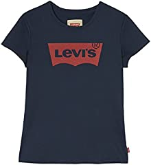 Levi's kids Short Sleeves Batwin T-Shirt Camiseta para Niñas
