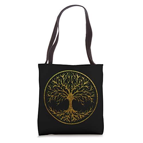 Yggdrasil, Celtic, Tree, Life, Norse, Mythology, Nature, Tote Bag