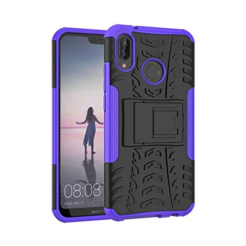 HHF Teléfono móvil Accesorios Dura Armadura de teléfono del Caso del Soporte para Huawei Mate 10 P10 P20 P8 P9 Lite Lite Pro 2017 P Inteligente Honor 9 8 Lite 7X Cajas de la PC de la Cubierta TPU