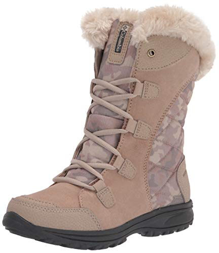 Columbia Ice Maiden II, Botas para Nieve Mujer, Oxford Tan Antiguo Fossil, 36 EU