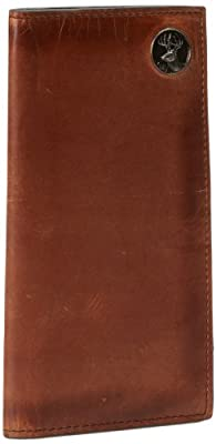 Weber's Leathers Men's Brown Pocket Secretary with Buck Concho, Brown, One Size