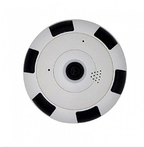 360 grados panorámico Wi-Fi HD 1.3MP Cámara IP inalámbrica ojo de pez, visión nocturna, soporte dispositivo inteligente vista remota