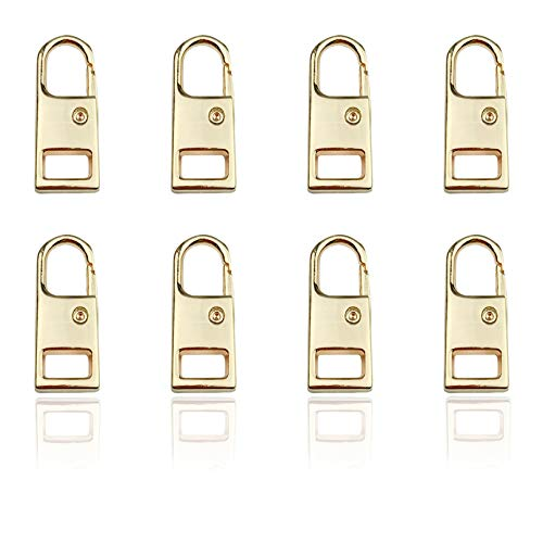 Mulutoo 8Pcs Metal Solid Zipper ...