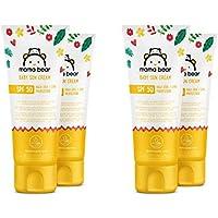 Marca Amazon- Mama Bear - Crema solar para bebés FPS 50 (Alta protección UVA/UVB)-  4 tubos - 4x100ml