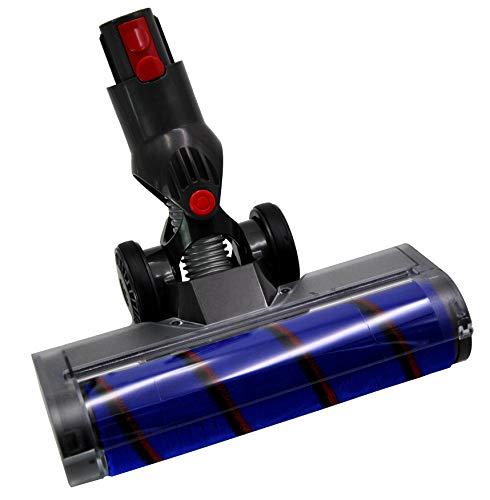 Elektrische Turbo Bürste Bodendüse mit Softrolle und Navi+ geeignet für Dyson Akku Staubsauger V7, V8, V10, V11, SV12, SV14, Absolute Serie