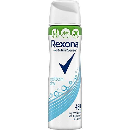 Rexona Deospray Deospray Cotton Dry Anti-Transpirant Compressed, 75ml, 6er Pack (6 x 75ml)