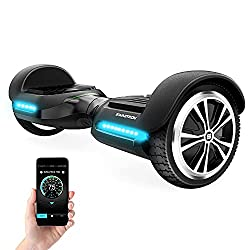 Swagtron App-Enabled Bluetooth Hoverboard-Smart Self-Balancing Wheel