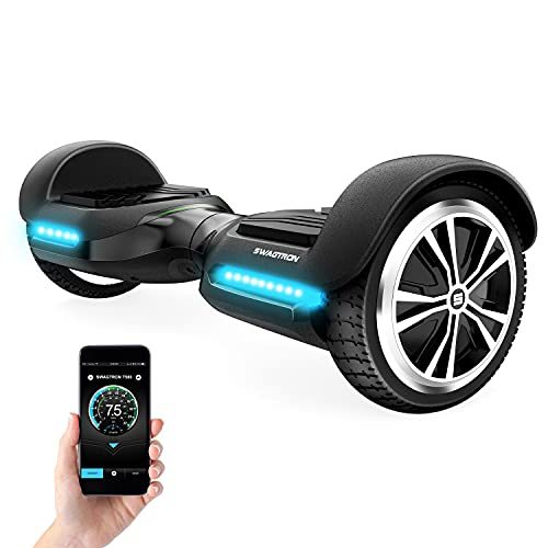 Swagtron T580 App-Enabled Bluetooth Hoverboard with Speaker
