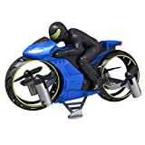 Christmas Gifts RC Remote Control Motorcycle, Light Aircraft Model, 360° Spinning Action Rotating Drift Stunt Motorbike 2.4Ghz Radio Control Racing Motorcyle With Riding Figure Toys for Kids Boys