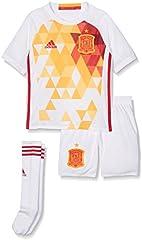 adidas 2ª equipación Selección Española de Futbol 2016-2017 - Conjunto Camiseta y pantalón Corto Oficial