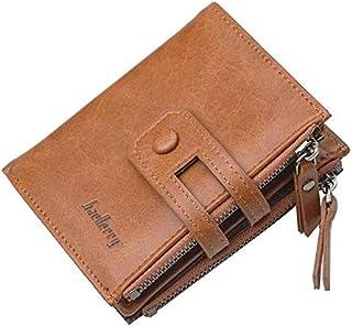 محفظة بطيتين للرجال من بايليري - لون بني