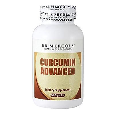 Dr Mercola Curcumin Advanced (500mg, 90 Capsules)